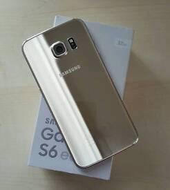 Samsung S6 Edge in Platinum Gold* VODAFONE NETWORK*