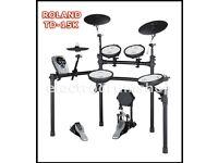 ROLAND TD-15K vdrums electronic drum kit & pedal NICE kit lovely set pre TD-25 and 17