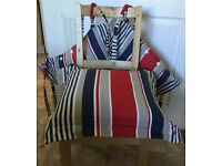 3 Chair seat pads - M&S - as new