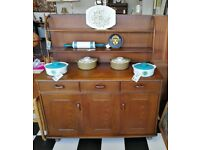 Vintage Ercol sideboard with Plate Rack dater 1967