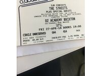 1 Ticket for The Streets - Brixton: Friday 27 April