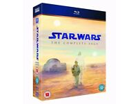 Star Wars Episodes 1-6 Blu-ray Collection