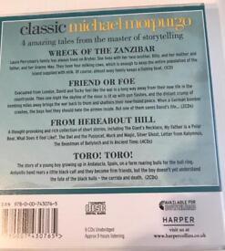 Collection of Michael Morpurgo audio CDs