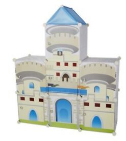 Children's castle cube cabinets large brand new in box