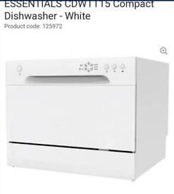 Essentials CDWTT15 Compact Dishwasher