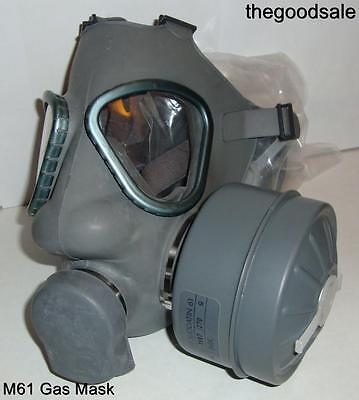 Nato M9 Style Finnish Military Gas Maskrespirator W 40mm Filter Exp 2023 Small