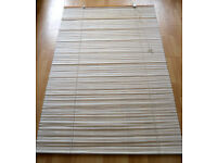 PAPER AND BAMBOO ROLL-UP BLIND 48 x 72 INCHES