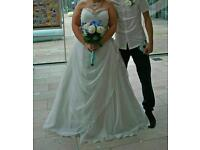 Elle white wedding