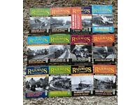 British railway illustrated magazines 2001 complete year