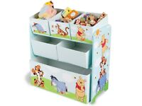 DISNEY WINNIE THE POOH CHILDREN TOYS STORAGE