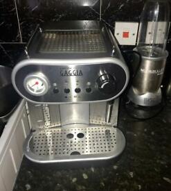 Gaggia carezza espresso machine.
