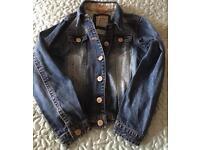 Next denim jacket Aged 9/10