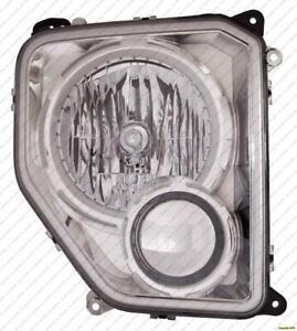 Head Light Passenger Side Chrome Bezel Without Fog Light Round Bulb Shield High Quality Jeep Liberty 2008-2012