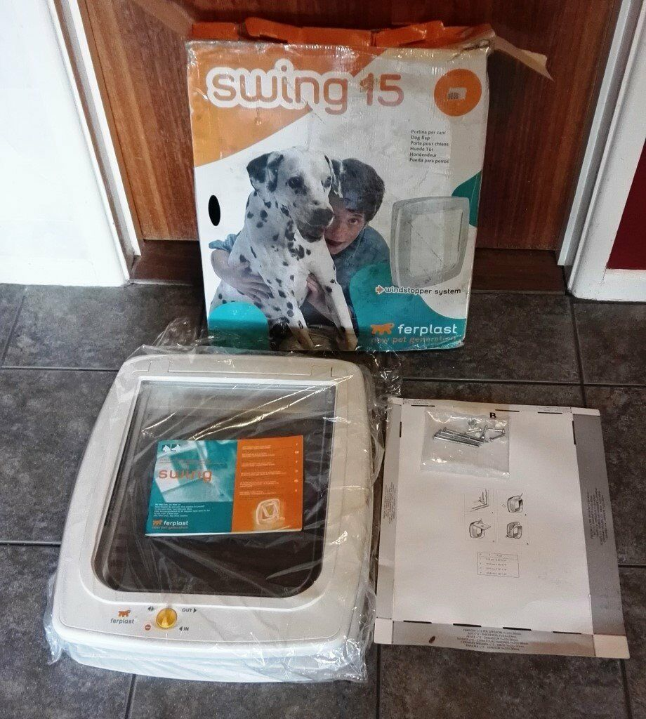 Swing Line 15 Pet Flap For Cats Dogs By Ferplast In Portsmouth