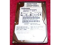 "TOSHIBA 320GB 2.5"" MK3263GSX LAPTOP HARD DRIVE HDD"