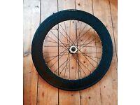 Fixie/track bike rear wheel