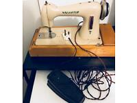 HELVETIA SEWING MACHINE VINTAGE ELECTRICAL