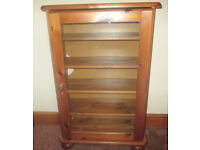 FREE- SMALL AND NEAT WOODEN CD/STORAGE CABINET