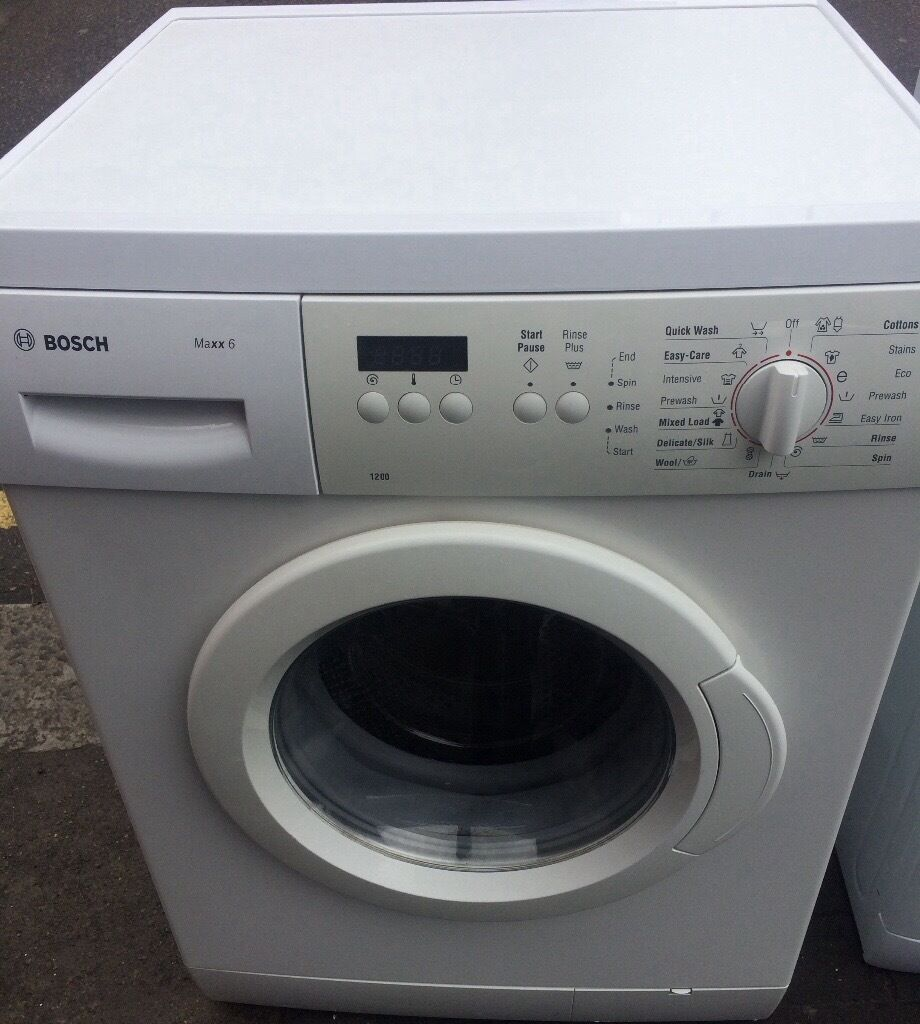 bosch maxx 6 classic model washing machine free delivery and warranty in walthamstow london. Black Bedroom Furniture Sets. Home Design Ideas