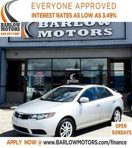 2012 Kia Forte EX*EVERYONE APPROVED* APPLY NOW DRIVE NOW.