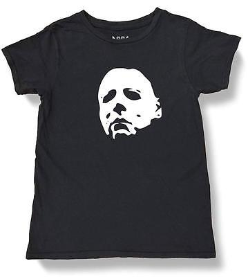 NW YOUTH KIDS GIRLS BOYS HALLOWEEN MICHAEL MYERS FUNNY COTTON PRE-WASHED T-SHIRT (Halloween Michael Myers Kid)