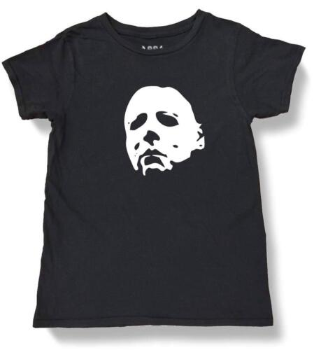 NW YOUTH KIDS GIRLS BOYS HALLOWEEN MICHAEL MYERS FUNNY COTTO