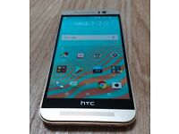 HTC One M9, PRISTINE, rose gold, 32Gb, with box and extras - professionally CHECKED