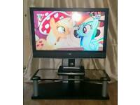 """Sony bravia 40"""" tv with stand"""