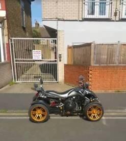 SPY road legal Quadbike 350cc F1 - £1700