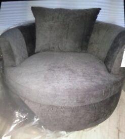 New Karisma large swivel love seat