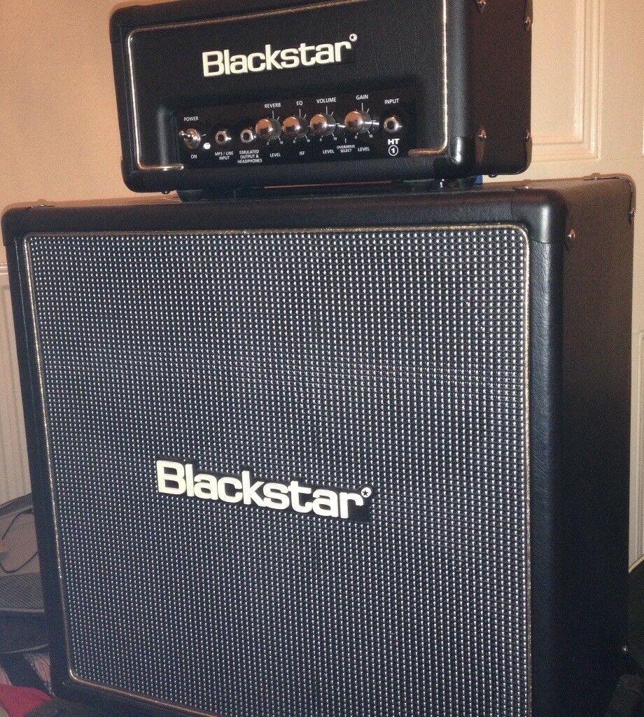 Blackstar HT1RH and 408 Cab