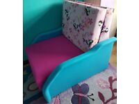 single sofa bed junior girl bed with storage