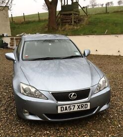 Lexus IS 250 SEL February 2008 Low Mileage (74000) owned from new from Lexus dealer