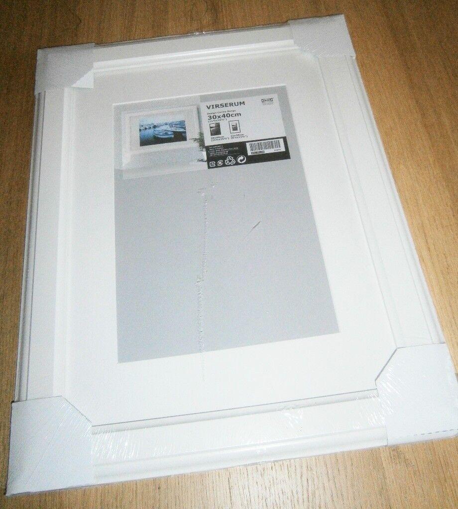 sealed *NEW* White Wood IKEA \