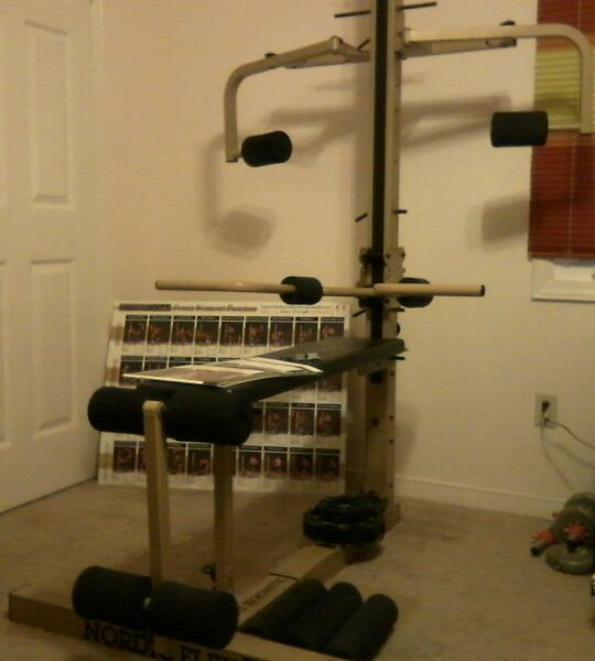 Nordicflex gold medalist home gym exercise equipment