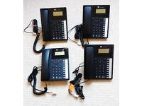 Four Orchid Telecom XL220 line powered feature phones