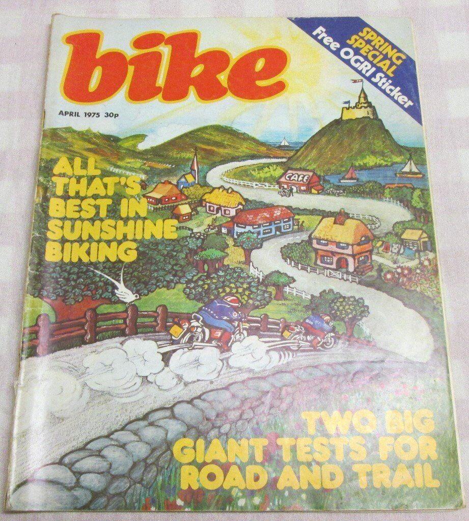 Bike magazine April 1975