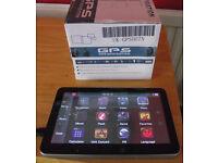 GPS navigation 7 inch 8Gb TFT LCD sat nav.