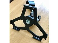 K&M 19724 iPad Air 1 Holder, For mounting onto microphone stands