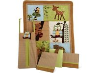 Lambs & Ivy Luxury Enchanted Forest Bedding 8 Piece Set