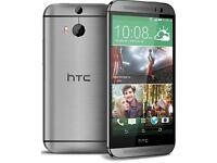 HTC ONE M8 - GREY 32GB *GRADE B* UNLOCKED