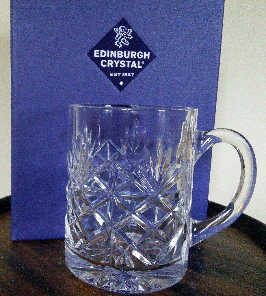 BRAND NEW Crystal Tankard - Christmas GIFT
