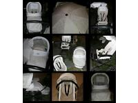 ONO! URGENT SELL NEEDED! Babystyle Prestige vintage cream pram and car seat pack