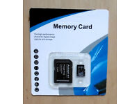 64Gb Micro SD with Adaptor