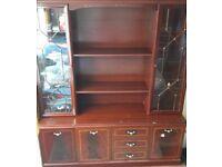 Used Display Cabinet Cupboard Sideboard Drawers
