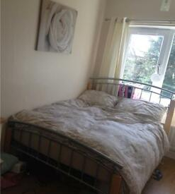 Double bed frame with free mattress