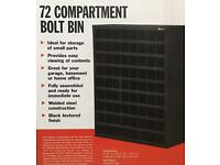72 Compartment Bolt Bin
