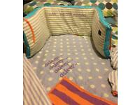 Baby K bedding bundle
