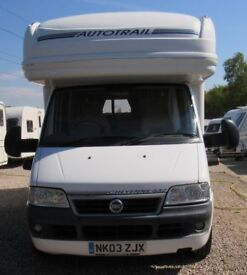 Auto-Trail, DUCATO 14, CHEYENNE 2003, *FIXED BED* 3 BERTH MOTOR HOME
