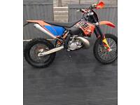 KTM EXC 200 2008 Enduro road Reg